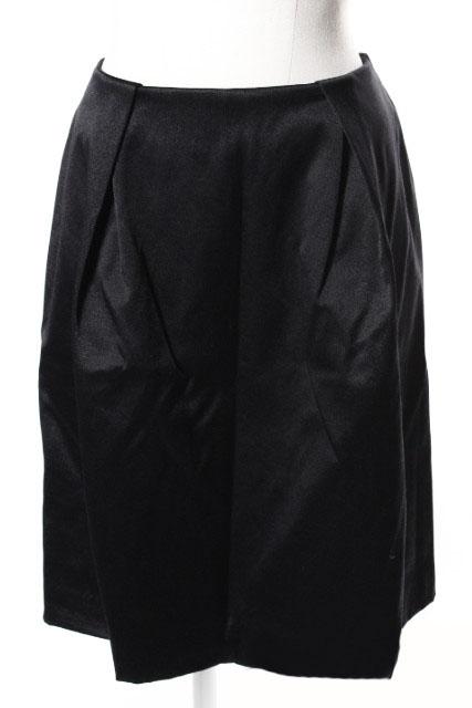 中古 ユナイテッドアローズ UNITED ARROWS サテン タック 保障 スカート ahm0514 古着 年末年始大決算 レディース 190514 ベクトル