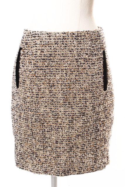 中古 高級品 マルティニーク martinique ツイード タイト スカート 古着 ayy0516 190516 新作通販 レディース ベクトル