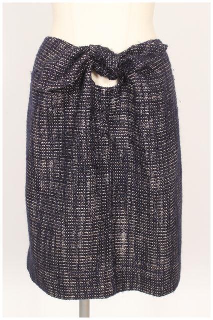 中古 ガリャルダガランテ おしゃれ GALLARDAGALANTE 新作製品、世界最高品質人気! リボン ツイード スカート 190603 古着 レディース ka0603 ベクトル