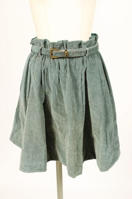 中古 カレンウォーカー KAREN WALKER コーディロイ フレア 美品 人気の製品 190606 古着 スカート レディース ベクトル au0606