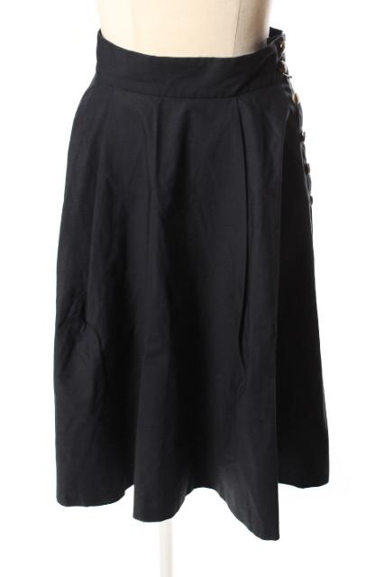 中古 フランネル phlannel フレア スカート 190419 レディース an0419 付与 古着 ベクトル 無料サンプルOK