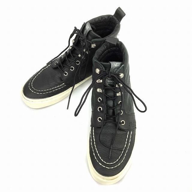 バンズ VANS syndicate シンジケート SK8-Hi Boot 'S' スニーカー ハイカット USA製 26.5 黒 ブラック VN-0SDU80P BBB メンズ 【中古】【ベクトル 古着】 190218 ブランド古着ベクトルプレミアム店