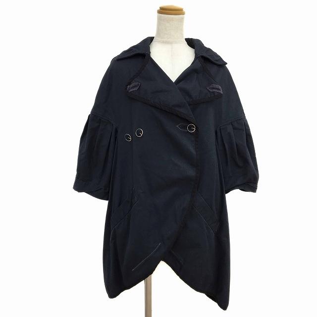 【中古】キャピタル kapital ジャケット コート 五分袖 0 紺 ネイビー レディース 【ベクトル 古着】 190710 ベクトルプレミアム店