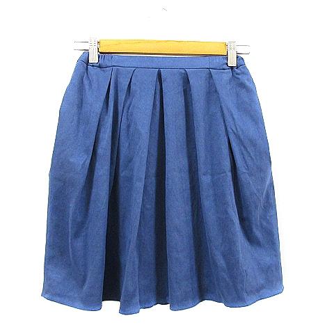 中古 最新 アーバンリサーチ URBAN RESEARCH スカート ギャザー ミニ F 青 ブルー ベクトルプレミアム店 レディース 210203 ベクトルプ 別倉庫からの配送 ベクトル 古着 AAM33