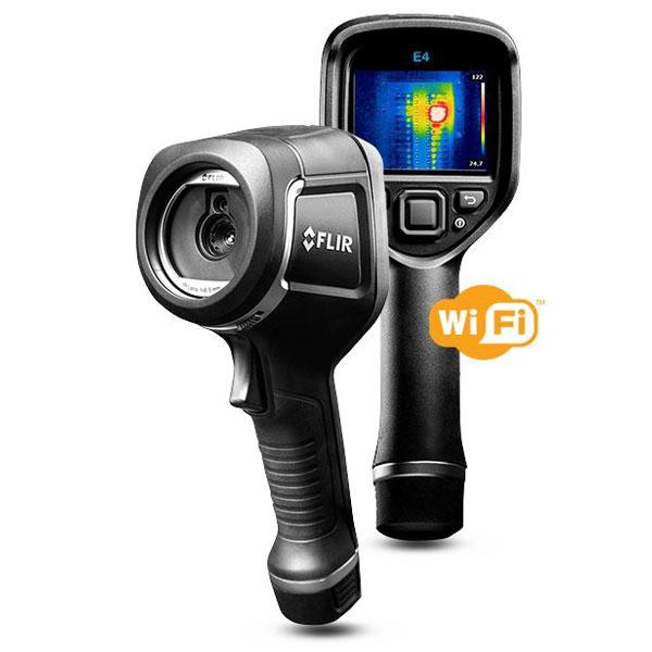 【送料無料】【赤外線サーモグラフィ】【ハンディタイプ】【FLIR E6 WiFi】軽量 小型 フリアーシステムズジャパン
