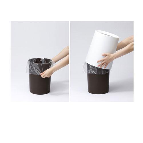 ideaco / soil pink matte soil pink matt/tubelor/HOMME / idea co / tubular / OM / trash bin / trash bin new gift