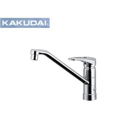 KAKUDAI/カクダイ/シングルレバー混合栓(分水孔つき)/117-018
