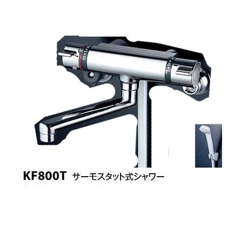 送料無料 KVK/ケーブイケー/サーモスタット式シャワー混合栓 KF800T フルメタルシリーズ