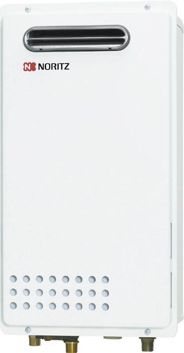 ノーリツ ガス給湯器16号 GQ-1625WS-KB 都市ガス・LPG選択可能 壁組み込み設置形 NORITZ