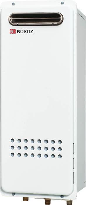 【送料無料】 ノーリツ 給湯器16号 スリム GQ-1628WS BL 都市ガス LPG 選択可能 給湯専用タイプ 屋外壁掛型 PS標準設置型 NORITZ
