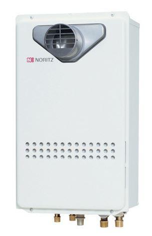 ノーリツ ガスふろ給湯器24号 GT-2435SAWX-T-BL 都市ガス・LPG選択可能 PS扉内設置形
