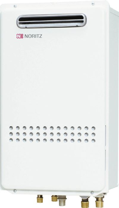 ノーリツ ガスふろ給湯器24号 GT-2435SAWX-BL 都市ガス・LPG選択可能 屋外壁掛形 PS標準設置形