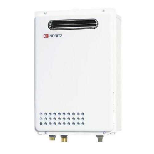 ノーリツ ガスふろ給湯器20号 GQ-2037WX 都市ガス・LPG選択可能 屋外壁掛形/PS標準設置形 NORITZ