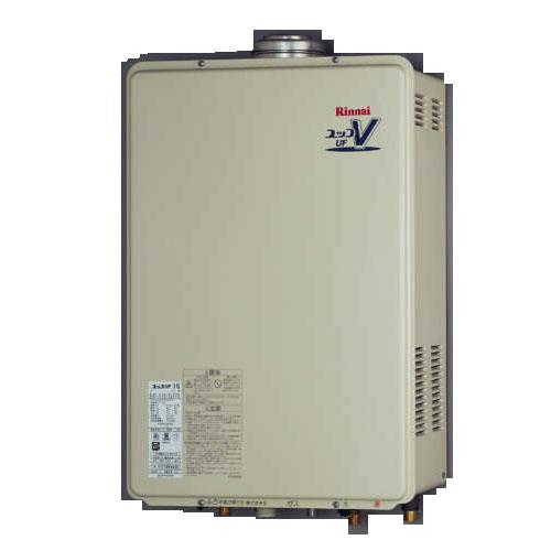 【送料無料】 リンナイ RUF-V1615SAFFD(B) ガスふろ給湯器16号 都市ガス・LPG選択可能 オート FF方式・屋内壁掛型