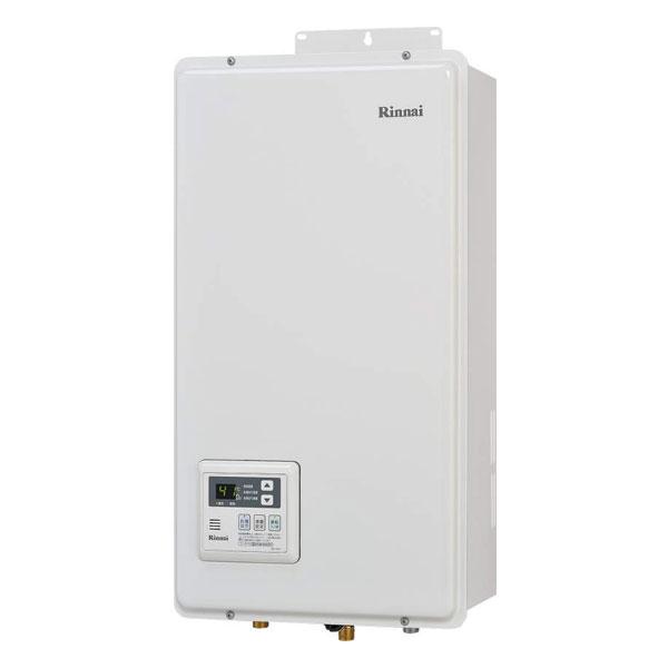 リンナイ RUX-V1316FFDA-E 都市ガス(12・13A) 台所リモコンMC-141V組込 ガス給湯専用機 13号 FF方式・屋内壁掛型 共用給排気ダクト設置専用 23-7062 Rinnai