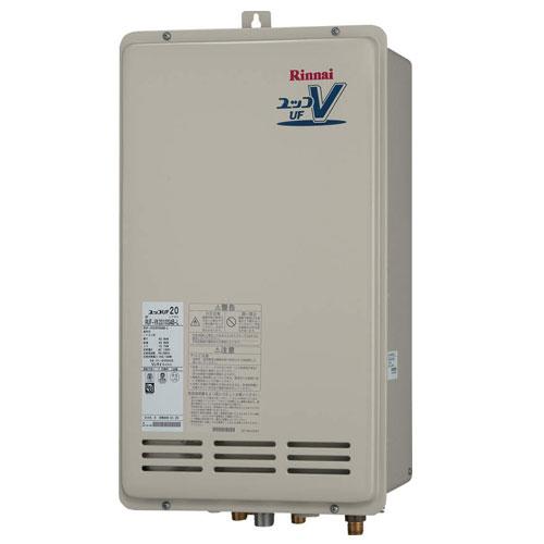 【送料無料】 リンナイ RUF-VK2000SAB-L(A) ガスふろ給湯器20号 都市ガス・LPG選択可能 オート PS扉内後方排気型