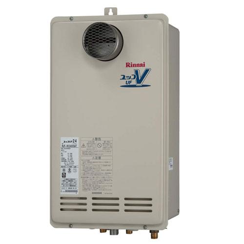 【送料無料】 リンナイ RUF-VK1610SAT(A) ガスふろ給湯器16号 都市ガス・LPG選択可能 オート PS扉内設置型/PS前排気型