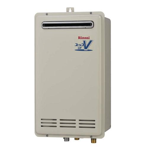 【送料無料】 リンナイ RUF-VK1610SAW(A) ガスふろ給湯器16号 都市ガス・LPG選択可能 オート 屋外壁掛・PS設置型