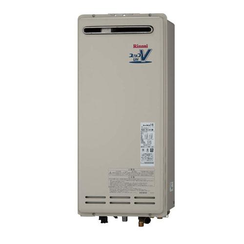 【送料無料】 リンナイ RUH-VK1610BOX ガス給湯暖房用熱源機 16号 都市ガス・LPG選択可能 屋外壁掛・PS設置型/壁組込設置型