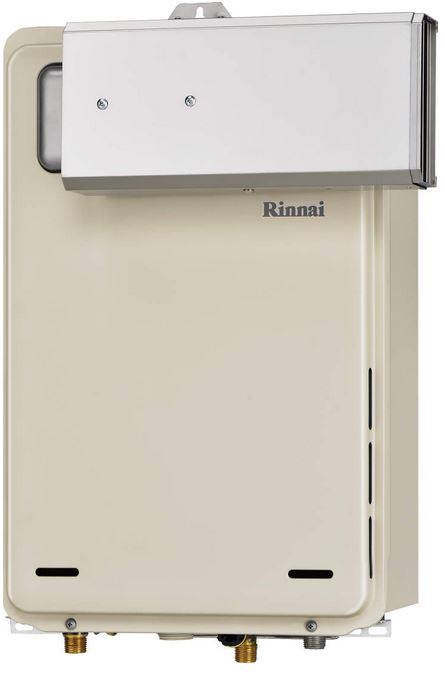 【送料無料】 リンナイ RUX-A2406A-E ガス給湯専用機 24号 都市ガス・LPG選択可能 アルコーブ設置型