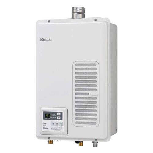 【送料無料】 リンナイ RUX-V1615SWFA-E ガス給湯専用機 16号 都市ガス・LPG選択可能 FE方式・屋内壁掛型