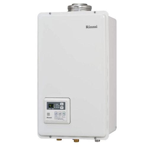 リンナイ 【送料無料】 RUX-V2405FFUA ガス給湯専用機 24号 都市ガス・LPG選択可能 FF方式・屋内壁掛型 Rinnai