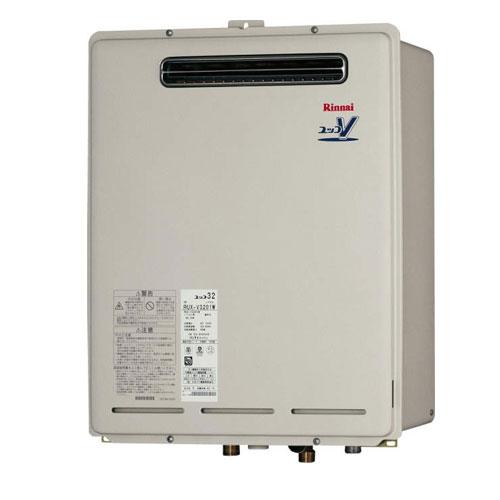 リンナイ 【送料無料】 RUX-V3201W-JE ガス給湯専用機 都市ガス・LPG選択可能 32号 屋外壁掛・PS設置型 塩害仕様品 Rinnai