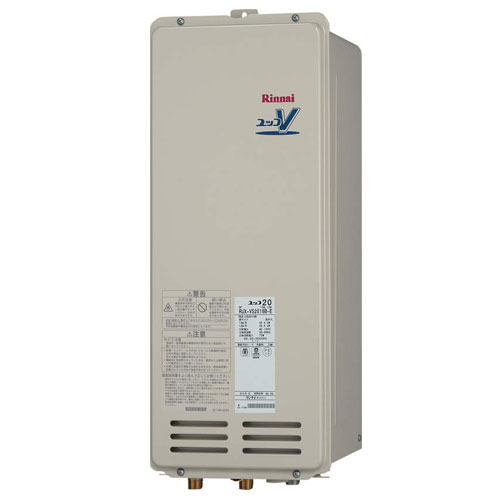【送料無料】 リンナイ RUX-VS1616B-E ガス給湯専用機 16号 都市ガス・LPG選択可能 PS扉内後方排気型