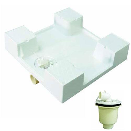 《あす楽対応》 MIYAKO ミヤコ パン用トラップ 縦引き付  600角洗濯機パン MB6060 M44PTX 洗濯機用防水パン タテビキ 洗濯パン 防水パン