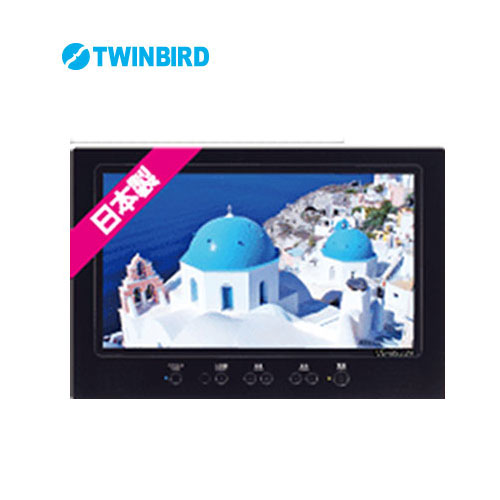 TWINBIRD/ツインバード 22V型浴室テレビ ブラック VB-BS229B 住宅取付用浴室テレビ 地デジフルハイビジョン 22V型 双方向 日本製 Bluetooh搭載 リモコン付属