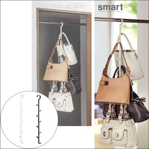 07648 Smart /Smart Closet Hanger White 07647/ Black Closet Storing / Hat  Storing /