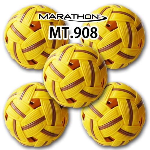 お買得5個セット セパタクローボール マラソン社製 MT.908 男子用 競技用ボール 大会公認球
