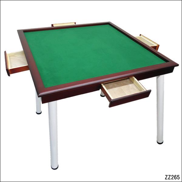 引き出し付き立卓麻雀卓 麻雀卓 赤茶 立卓タイプ テーブルタイプ 引き出し付き 限定品 メーカー在庫限り品 手打ち用麻雀台