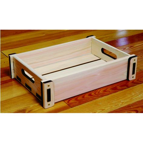 国産ひのき製すのこBOX 木箱 収納 超激得SALE 収納ケース 押入れ 割り引き 玄関 キッチン リビング収納 3種類から選べます 収納ボックス 種類は3種類ございます おもちゃ箱収納 小 野菜収納 国産ひのき製BOX
