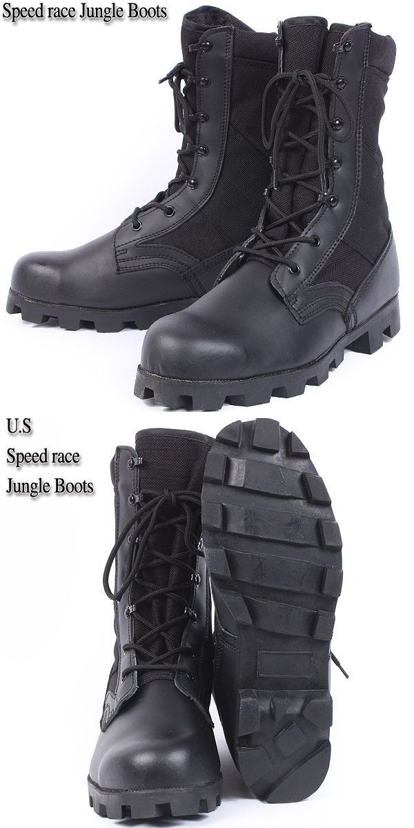 Military boots brand new U.S. speed race jungle boots 99819B