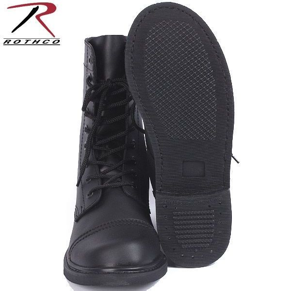 ROTHCO (Rosco) US Army combat boots all leather con military boots WIP ROTHCO Rothko boots ROTHCO Rothko