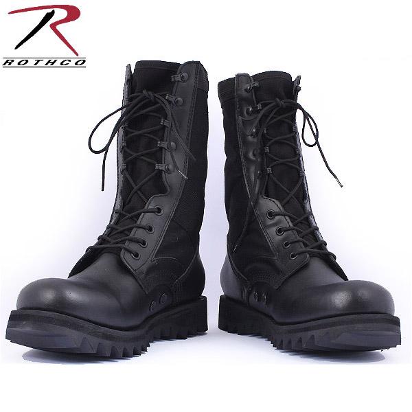 Military boots ROTHCO rothco military jungle boots ripple sole black ROTHCO Rothko boots ROTHCO Rothko