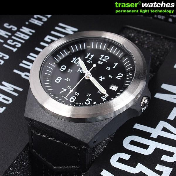 TRASER トレーサー 腕時計 ミリタリーウォッチ タイプ3 ブラック P5900.506.33.11 9032001 【クーポン対象外】 WIP メンズ ミリタリー アウトドア キャッシュレス 5%還元【クリスマス プレゼント ギフト】