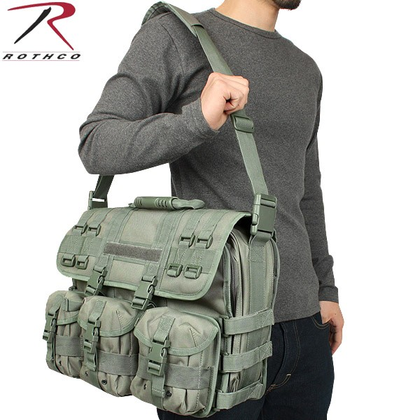 Rothco Rothko M O L E Tactical Laptopbriefcase Foliage Green Bags Bag Military American Forces Wip