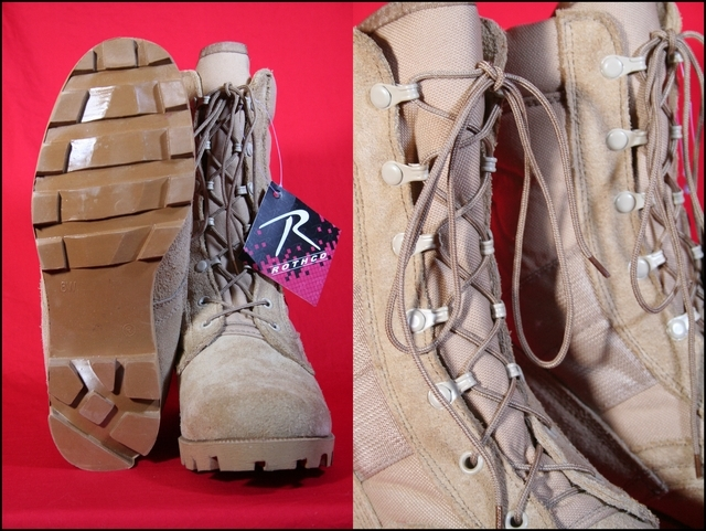 Military boots ROTHCO rothco military speed lace boots Desert Tan ROTHCO Rothko boots ROTHCO Rothko