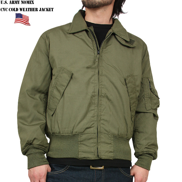 By using a real brand new US Army CVC Nomex tankers jacket flame-resistant material Nomex combat armored vehicle crew for winter jacket