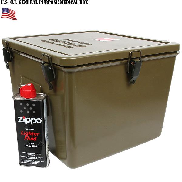 실물 신품 미군 PLASTIC MEDICAL BOX 플라스틱 다목적으로 사용할 수 있는 의료 상자 정확 하 게 좋은 크기와 뛰어난 가벼움에서 운반도 편리 WIP 10P09Jan16
