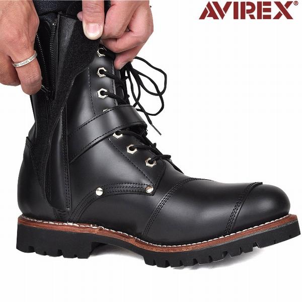 Choose the AVIREX avirexl military buckle boots YAMATO 3-avirex avirex / men's / military / boot / genuine avirex-AVIREX