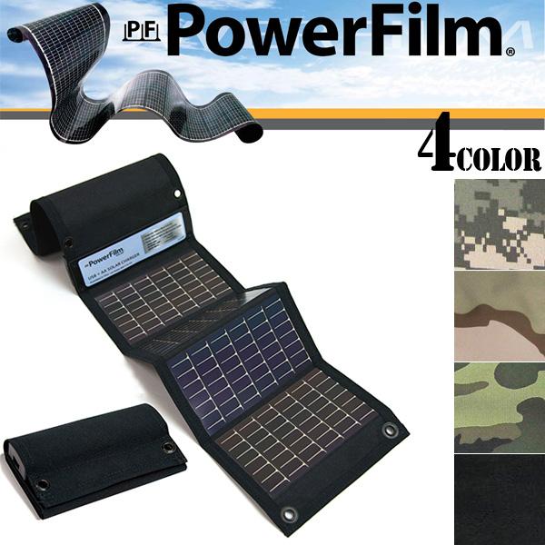クーポンで20%OFF◆Powerfilm パワーフィルム USB+AA Solar Charger 携帯充電器 モバイルバッテリー ソーラーパネル 防災グッズ 野外 アウトドア ミリタリー WIP メンズ ミリタリー アウトドア