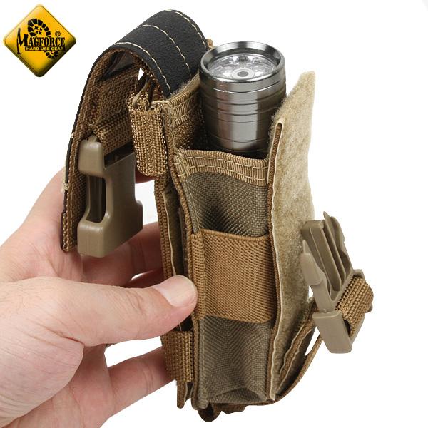 [밀리터리 가방] MAGFORCE 찻잔 포스 집어넣어 MF-1425 Flashlight Holster Tan 밀리터리 가방 밀리터리 가방 가방 밀리터리 mss WIP 남성