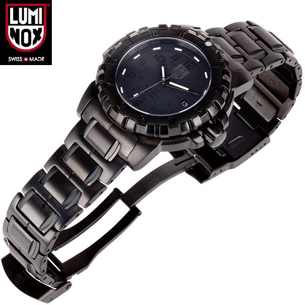 LUMINOX Luminox watch 6402 BLACK OUT f-117 nicho-Qu WIP