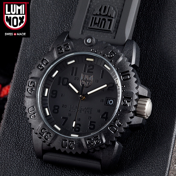 LUMINOX Luminox watch 7051 BLACKOUT NAVY SEALs a COLOR MARK SERIES WIP