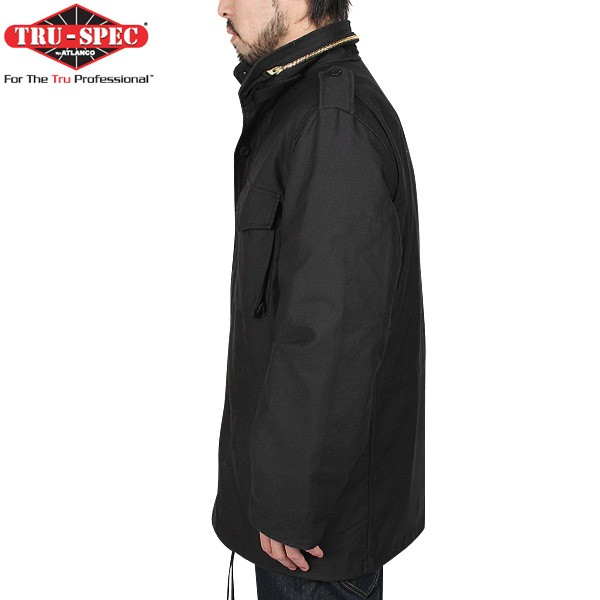 Classic M-65 TRU-SPEC true spec U.S. M-65 field jacket liner with Black features, impeccable detail of eternal is the one you want to keep holding
