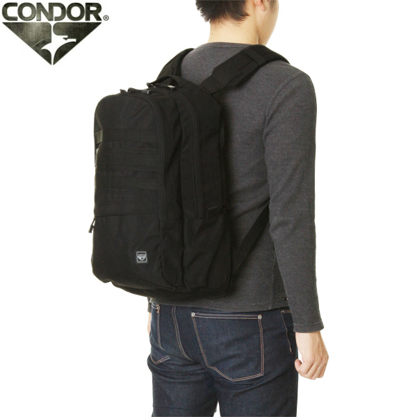 Main compartment design engineers on the slots go to 13-inch laptop [military bags, CONDOR Condor 11170 Outrider outrider backpack 4 colour military bag WIP military bag bags military