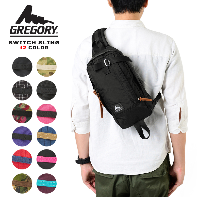 GREGORY Gregory Shoulder bag SLING SWITCH switches to 12 color ★ WIP GREGORY Gregory